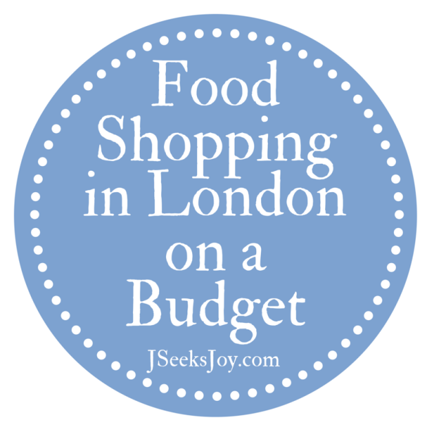 Food Shopping in London on a Budget
