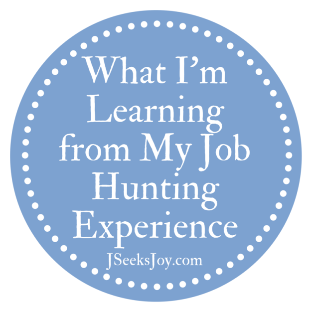 What I'm Learning from My Job Hunting Experience